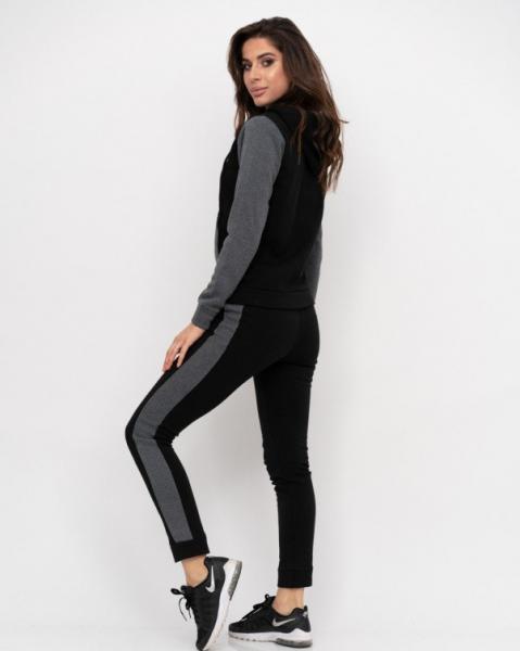 Фото  Спортивные костюмы ISSA PLUS 11188  XL черный/серый