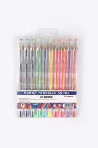 Фото Письменные принадлежности (ЦЕНЫ БЕЗ НДС), Ручки гелевые Набор гелевых ручек BEIFA, ассорти 10 цветов