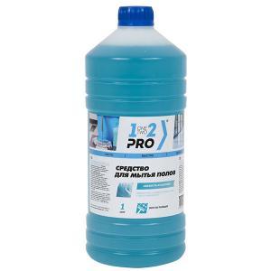 Средство для мытья пола 1-2-Pro Свежесть Атлантики 1 л