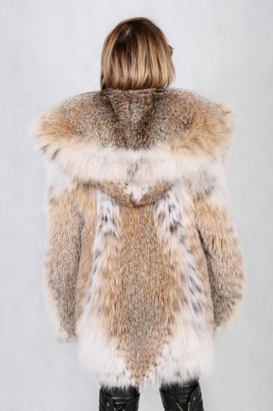 Фото Коллекция 2019/2020 13. Шуба из канадской натуральной рыси