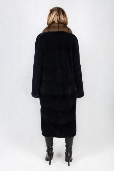 Фото Коллекция 2019/2020 55. Модель Английский-поперечка из поперечных пластин норки