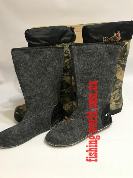 Фото Обувь для рыбаков и охотников  Сапоги NORFIN HUNTING(camo) -40