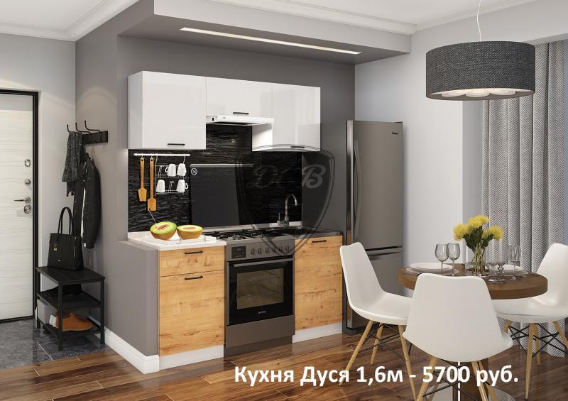 Кухня Дуся 1.6 м (ДСВ)
