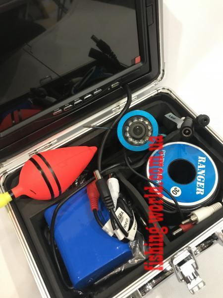 Фото ЭХОЛОТЫ//ПОДВОДНЫЕ ВИДЕО КАМЕРЫ ДЛЯ РЫБАЛКИ Подводная камера Renger Lux RECORD