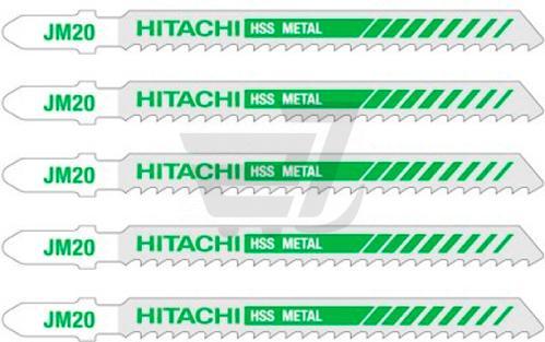 Набор пилочек для электролобзика Hitachi JM20 5 шт. 750012