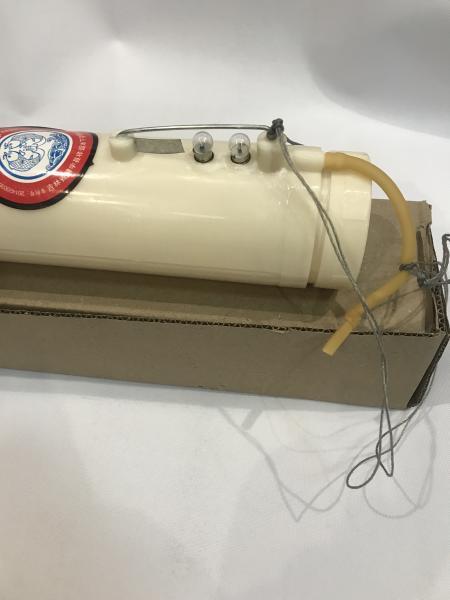Фото Сети (ДЛЯ ПРОМЫШЛЕННОГО ЛОВА), Торпеда для протяжки сетей подо льдом Торпеда (пластик)для протяжки сетей подо льдом