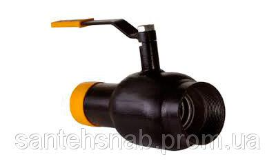 Кран шаровый стальной приварка/резьба 11с34п1 BREEZE серия Europe Ду15/10-50/40