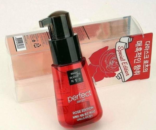 Сыворотка для волос с маслом розы Mise En Scene Perfect Serum Rose Edition 70мл (MES0102)