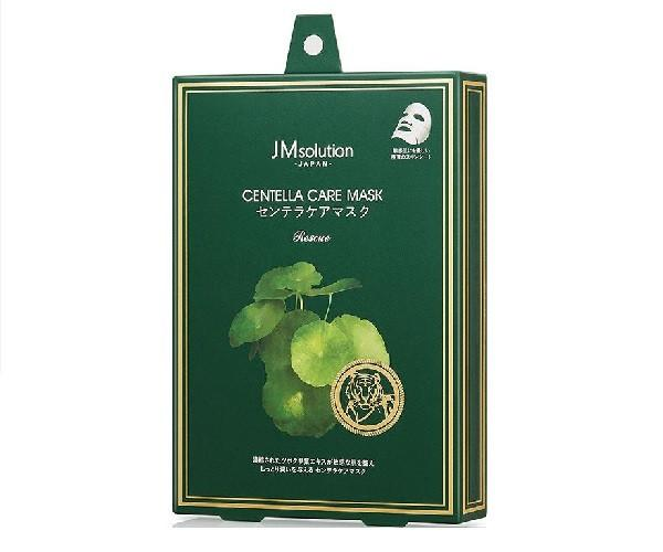 Маска с листями центелы JM Solution Centella Care Mask Rescue 25мл (JM0123)