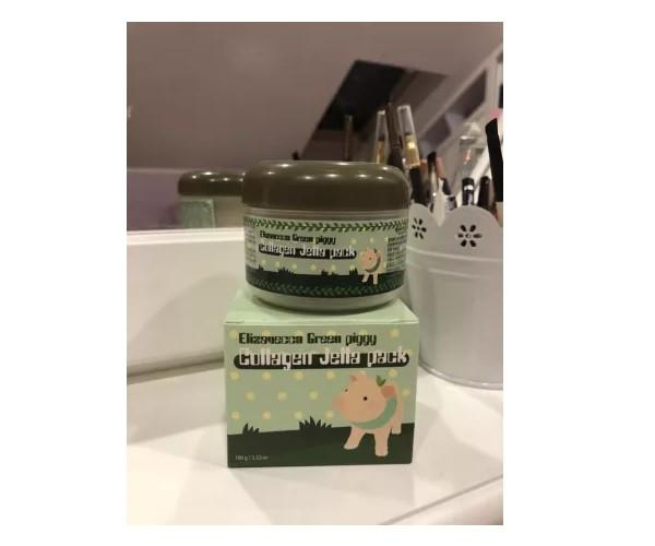 Коллагеновая  маска для лица Elizavecca Green Piggy Collagen Jella Pack 100 мл (E0103)