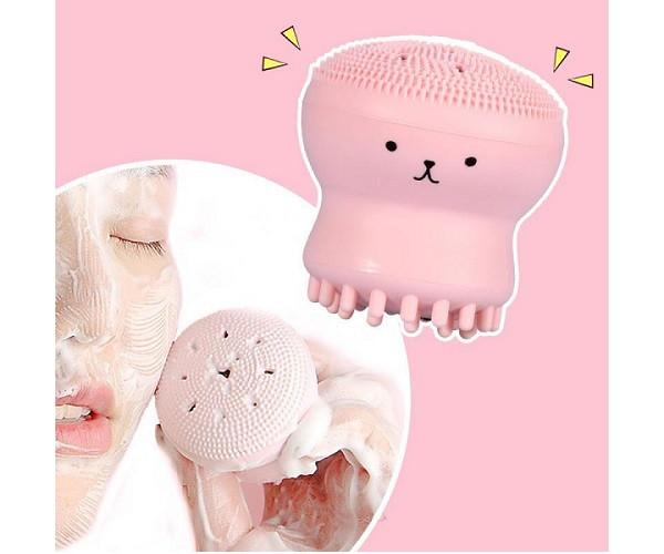 Щеточка Etude House для очистки пор и массажа лица my beauty tool exfoliating jellyfish silicon brush (EH0110)