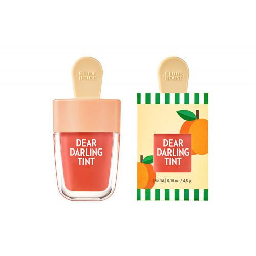 Тинт на водной основе Etude House Dear Darling Water Gel Tint Apricot Red OR205 4,5g