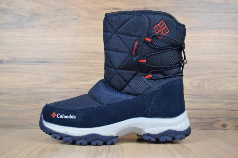 Columbia Winter Blue Red (36-41)