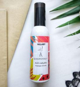 Фото Красота и здоровье Антицеллюлитное масло Hillary Grapefruit