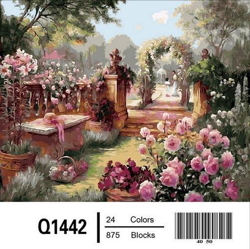 Фото Картины на холсте по номерам, Загородный дом Q1442