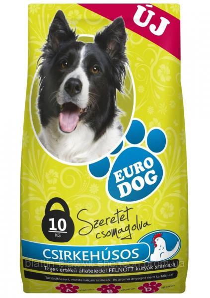 Сухой Корм для Собак EURO DOG с Птицей, 10 кг
