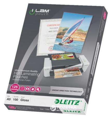 Пленки для ламинирования  Leitz  А5  125 mic х 100 шт.
