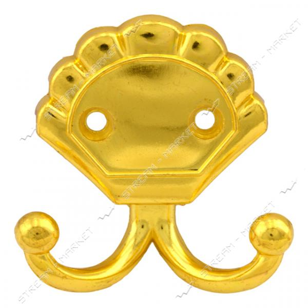Крючок мебельный №6061 золото