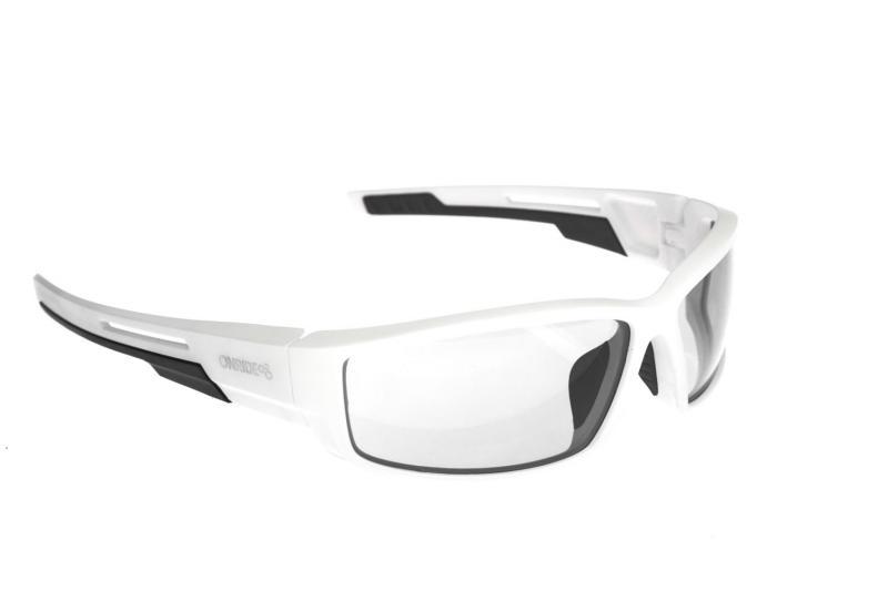 Окуляри ONRIDE Point матовий білий/чорний з лінзами Clear (Cat.0)