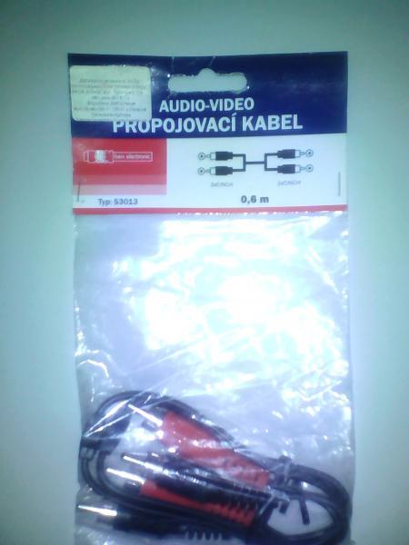 EMOS s 3013  audio/video кабель 0.6 m