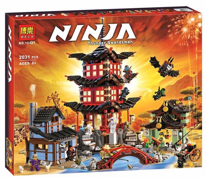 Фото Конструкторы, Конструкторы типа «Лего», Ниндзя Го (Ninja Go) 10427  Конструктор Bela (аналог Lego Ninjago 70751)