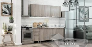 Кухня Эко 2,0м ясень светлый (БТС)