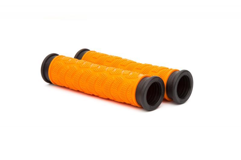 Ручки руля ONRIDE MixedGrip помаранчевий/чорний