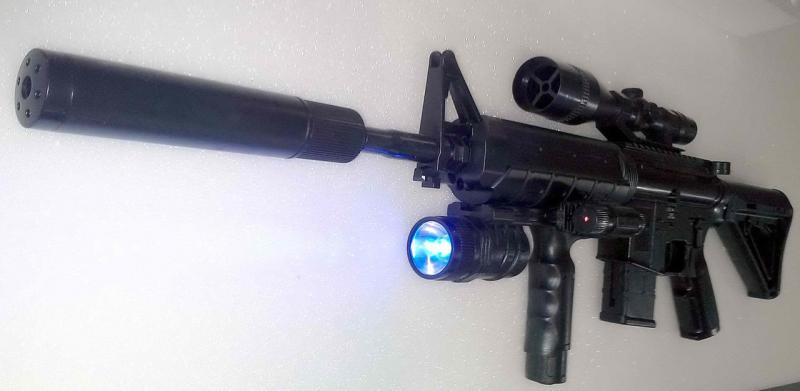 Фото Игрушечное Оружие, Стреляет пластиковыми 6мм  пульками, Автомат, пулемет, карабин Детский игрушечный карабин P.1158D