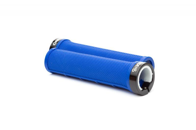Фото КЕРМОВА, Гріпси, Обмотка, Роги Ручки руля ONRIDE GripOne синій