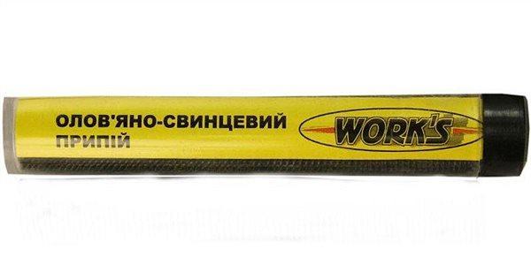 "Припой оловяно-свинцовый Work""S W15015, d-1.5мм"