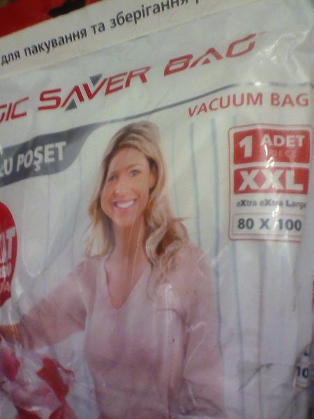 Вакуум пакеты/одежды х 1 шт./упак  80 х 100 см