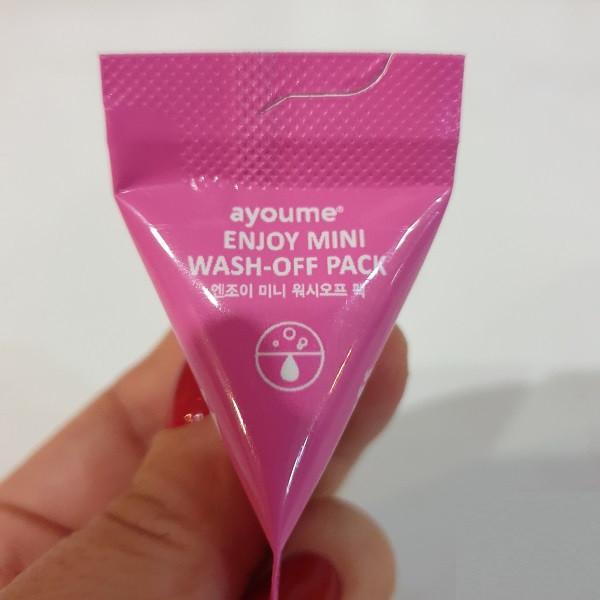 Успокаивающая маска, для жирной кожи AYOUME Enjoy Wash Off Pack 3гр (AY0103)