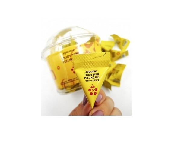 Пилинг-гель для лица с фруктовыми кислотами AYOUME Enjoy Mini Peeling Gel 3гр (AY0110)