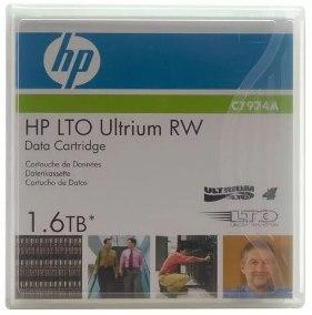 HP C 7974 LTO Ultrium RW 1.6 Tb  - Data Cartridge ленточ носит инфо