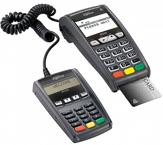 Ingenico icT 220 POS-терминал б/у раб.