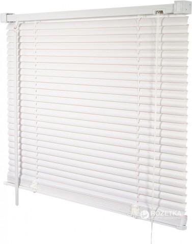 Жалюзи пластиковые Деко-Сити 50x160 см Белые