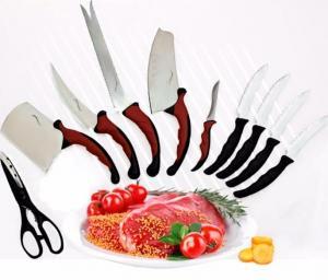 Фото Хит продаж Набор кухонных ножей Contour Pro Knives Контур про магнитная рейка 11 предметов