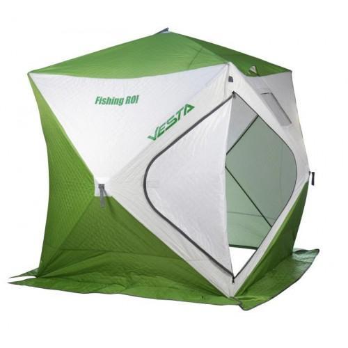 Палатка Fishing ROI Vesta Куб зимняя утепленная 180*180*190см