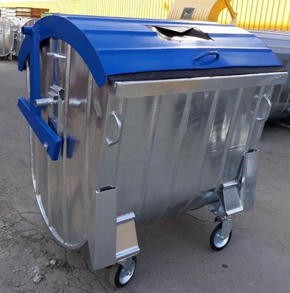 Контейнеры металлические для мусора, ТБО