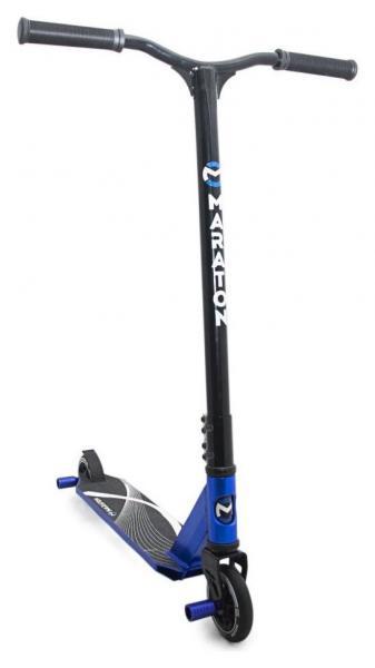 Фото ТРЮКОВІ САМОКАТИ Трюковий Самокат для стрибків Maraton Dictator (синій)