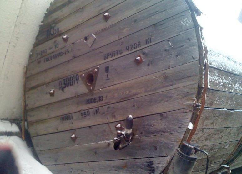 Кабель АСБл-6 3х120 силовой бронированный