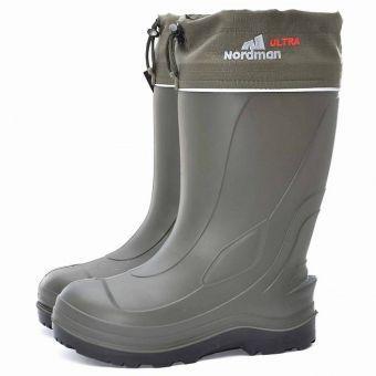 Фото Одежда, обувь для охоты и рыбалки, Сапоги зимние  Сапоги Nordman Ultra до -50 ºС с меховым вкладышем (40 - 47p)