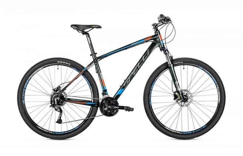 Фото ВЕЛОСИПЕДИ, SPELLI Велосипед Spelli-2019 SX 5900 чорно/синій/помаранчовий