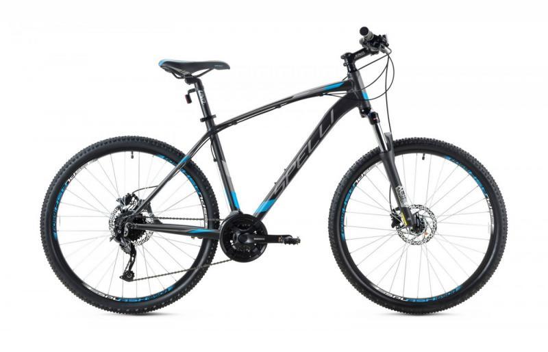 Фото ВЕЛОСИПЕДИ, SPELLI Велосипед Spelli-2019 SX 5700 чорно/синій/чорний