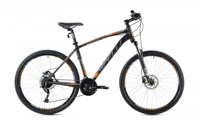 Фото ВЕЛОСИПЕДИ, SPELLI Велосипед Spelli-2019 SX 5700 чорно/помаранчевий/чорний