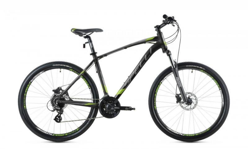 Фото ВЕЛОСИПЕДИ, SPELLI Велосипед Spelli-2019 SX 4700 черно/зелено/черний