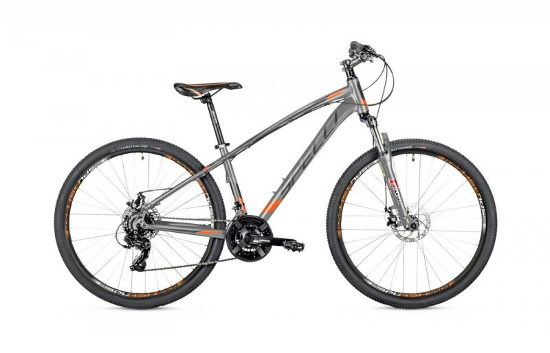 Велосипед Spelli-2019 SX 2700 сіро/помаранчево/сірий