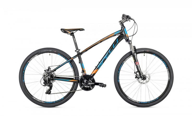 Фото ВЕЛОСИПЕДИ, SPELLI Велосипед Spelli-2019 SX 2700 чорно/синій/помаранч