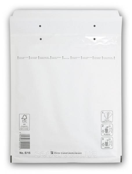 Бандерольный конверт E15, опт, Польша Белый