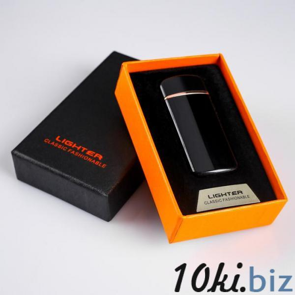 Зажигалка электронная в подарочной коробке, USB, спираль, 3.2х7.5 см купить в Гродно - Зажигалки